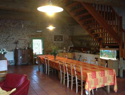 Gîte & Chambre d'hôte Pyrénées Orientales - salon